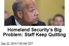 Homeland Security Reels as Top Brass Keep Quitting