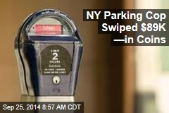 NY Parking Cop Swiped $89K —in Coins