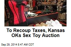 To Recoup Taxes, Kansas OKs Sex Toy Auction