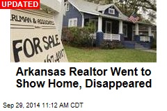 Cops Hunt Man After Ark. Realtor Disappears on Job