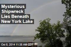 Mysterious Shipwreck Lies Beneath New York Lake