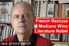 French Recluse Modiano Wins Literature Nobel