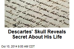 Hi-tech scan of Descartes' skull reveals secret