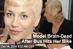 Model Brain Dead After Bus Hits Her Bike