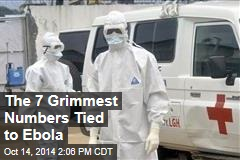 The 7 Grimmest Numbers Tied to Ebola