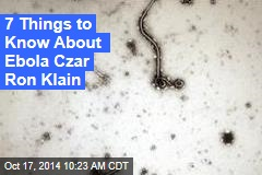 7 Things to Know About Ebola Czar Ron Klain