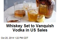 Whiskey Set to Vanquish Vodka in US Sales