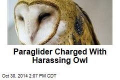 Paraglider Charged With Harassing Owl