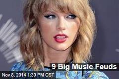 9 Big Music Feuds