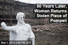 50 Years Later, Woman Returns Stolen Piece of Pompeii