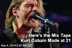 Here's the Mix Tape Kurt Cobain Made at 21