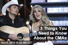 3 Things You Need to Know About the CMAs