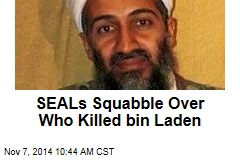 SEALs Squabble Over Who Killed bin Laden
