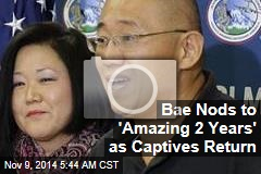 Bae Nods to 'Amazing 2 Years' as Captives Return