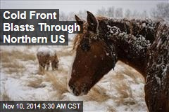 Cold Front Blasts Through Northern US
