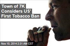 Small Massachusetts Town Considers Outlawing Tobacco