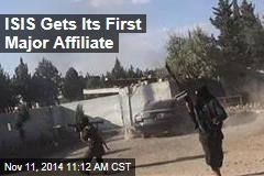 ISIS Gets Its First Major Affiliate