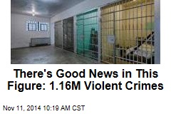 There's Good News in This Figure: 1.16M Violent Crimes