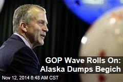 GOP Wave Rolls on: Alaska Dumps Begich