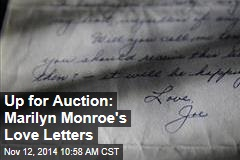 Up for Auction: Marilyn Monroe's Love Letters