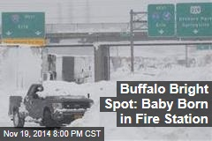Buffalo Bright Spot: Baby Born in Fire Station