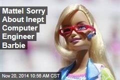 Mattel Sorry About Inept Computer Engineer Barbie