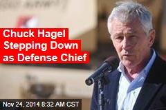Chuck Hagel Stepping Down as Defense Chief