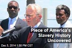 Uncovered: Remains of US Slaves' 'Ellis Island'