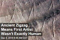 Ancient Zigzag Means World's First Artist Wasn't Human