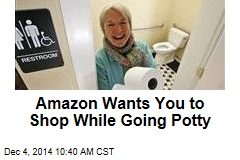 Amazon Wants You to Shop While Going Potty