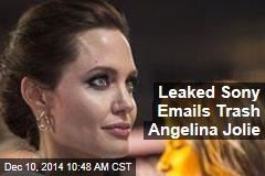 Leaked Sony Emails Trash Angelina Jolie