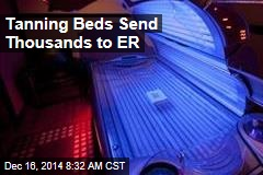 Tanning Beds Send Thousands to ER