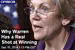 Why Warren Has a Real Shot at Winning