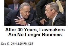 After 30 Years, Lawmakers Are No Longer Roomies