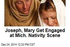 Joseph, Mary Get Engaged at Mich. Nativity Scene