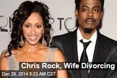 Chris Rock, Wife Divorcing