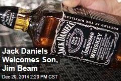 Jack Daniels Welcomes Son, Jim Beam