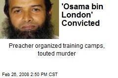 'Osama bin London' Convicted