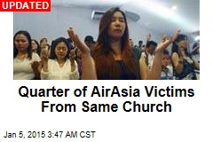 Quarter of AirAsia Victims From Same Church