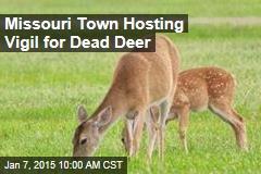 Missouri Town Hosting Vigil for Dead Deer