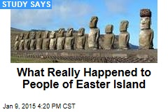 How Civilization Really Declined on Easter Island