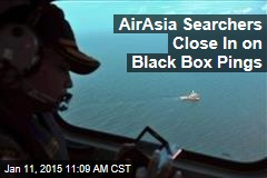 AirAsia Searchers Close In on Black Box Pings