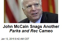John McCain Snags Another Parks and Rec Cameo