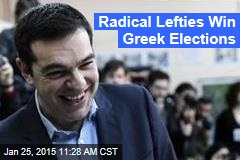 Radical Lefties Win Greek Elections