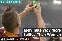 Men Take Way More Selfies Than Women
