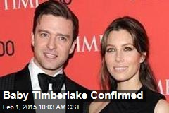 Baby Timberlake Confirmed