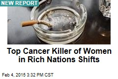 Top Cancer Killer of Women in Rich Nations Shifts