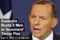 Australia Busts 2 Men in 'Imminent' Terror Plot