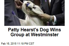 Patty Hearst's Dog Wins Group at Westminster