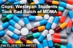 c8ba0d16adb loading Cops  Bad Batch of MDMA Sent 11 Students to Hospital